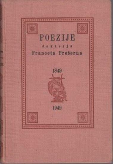 Picture of France Preseren: Poezije doktorja Franceta Preserna