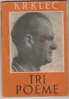 Picture of Gustav Krklec: Tri poeme