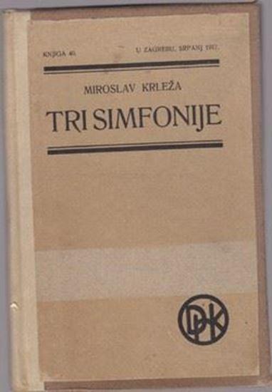 Picture of Miroslav Krleza: Tri simfonije