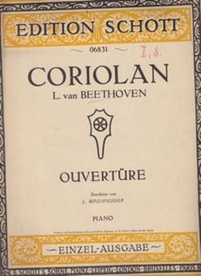 Picture of Vladimir Ruždjak, potpis: Coriolan- L. Van Beethoven
