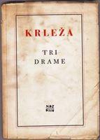 Picture of Miroslav Krleza: Tri drame