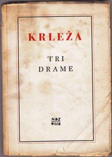 Picture of Miroslav Krleža: Tri drame