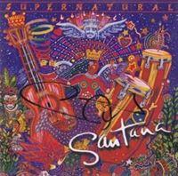 Picture of Santana autograph : CD Supernatural-potpis Carlos Santana