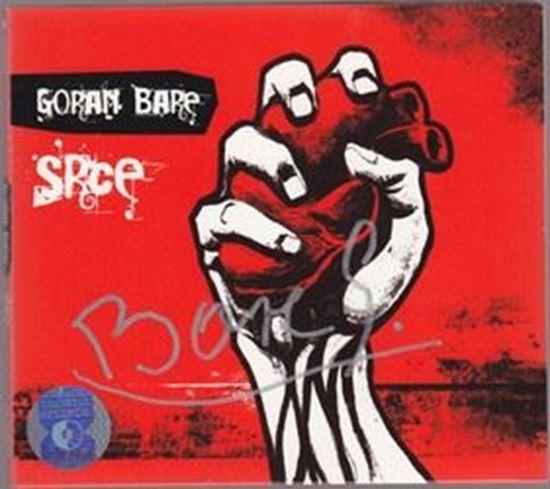 Picture of Goran Bare: CD Srce- potpis Goran Bare