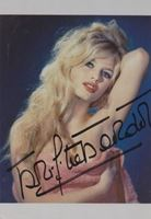 Picture of Brigitte Bardot autograph: Fotografija s potpisom / signed photo