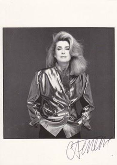 Picture of Catherine Deneuve autograph / potpis: Fotografija s potpisom / signed photo