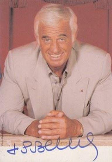 Picture of Jean Paul Belmondo autograph: Fotografija s potpisom / signed photo
