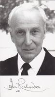Picture of Ian Richardson autograph: Fotografija s potpisom / signed photo