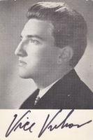 Picture of Vice Vukov: Fotografija s potpisom, karta Jugoton