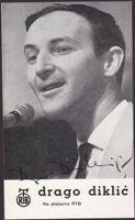 Picture of Drago Diklić: Razglednica s potpisom