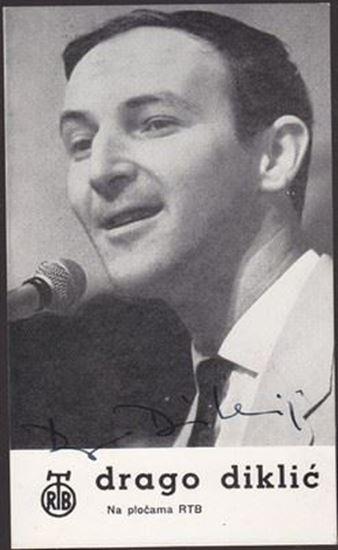 Picture of Drago Diklic: Razglednica s potpisom