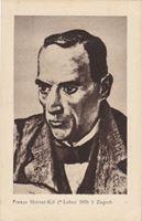 Picture of Franjo Horvat Kis, portret: Razglednica