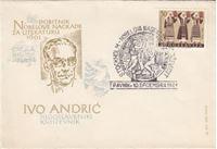 Picture of Ivo Andric: FDC - dobitnik Nobelove nagrade za knjizevnost