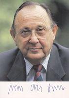 Picture of Hans Dietrich Genscher: Potpis / autograph