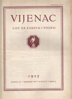 Picture of Ferdo Nikolić, urednik: Vijenac, godina III knjiga IV broj 1