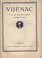 Picture of Ferdo Nikolić, urednik: Vijenac, godina III knjiga IV broj 2