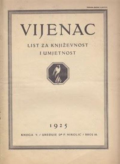 Picture of Ferdo Nikolić, urednik: Vijenac, godina III knjiga V broj 10
