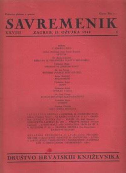Picture of Ilija Jakovljević, urednik: Savremenik, godina XXVIII broj 6