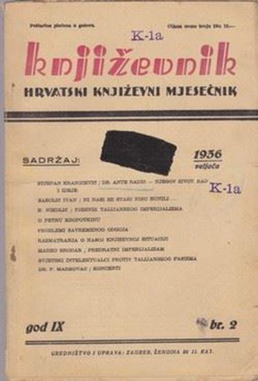 Picture of Milan Durman, urednik: Knjizevnik, godina IX broj 2