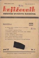 Picture of Milan Durman, urednik: Književnik, godina IX broj 1