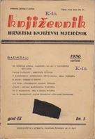 Picture of Milan Durman, urednik: Knjizevnik, godina IX broj 1