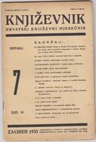 Picture of Milan Durman, urednik: Knjizevnik, godina VI broj 7