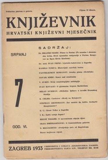 Picture of Milan Durman, urednik: Književnik, godina VI broj 7