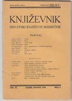 Picture of Milan Durman, urednik: Knjizevnik, godina III broj 8