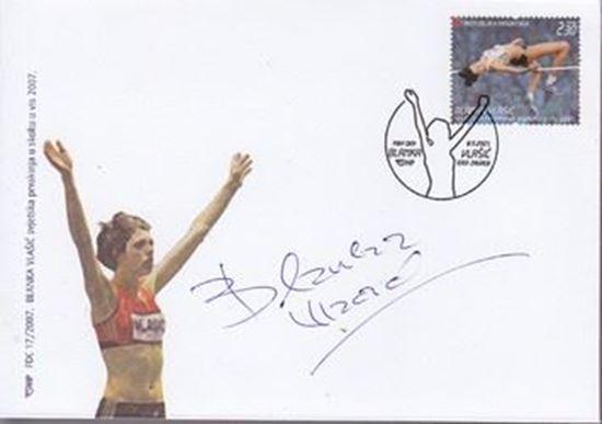 Picture of Blanka Vlasic: Potpis / autograph