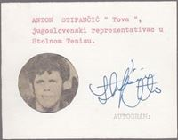 Picture of Antun Stipancic: Potpis / autograph