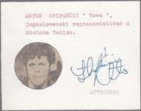 Picture of Antun Stipančić: Potpis / autograph