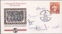 Picture of SR Njemacka, macevalacka reprezentacija, potpisi: FDC - OI Montreal