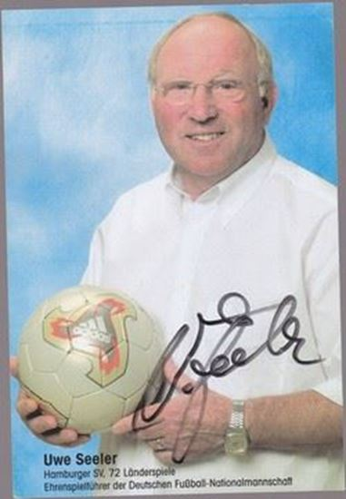 Picture of Uwe Seeler: Potpis / autograph