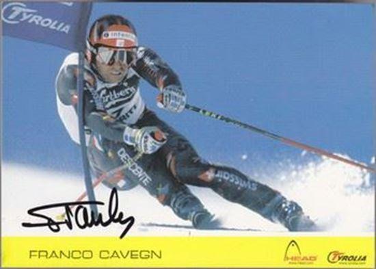 Picture of Franco Cavegn: Potpis / autograph