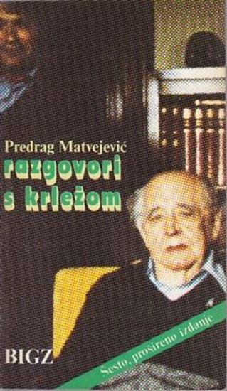 Picture of Predrag Matvejevic: Razgovori s Krlezom