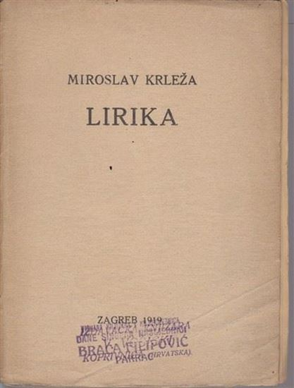 Picture of Miroslav Krleža: Lirika