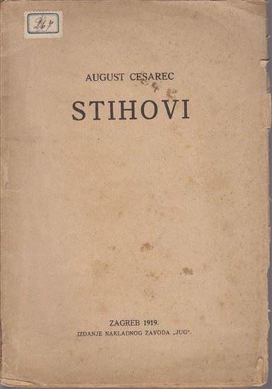 Bibliofil August Cesarec Stihovi