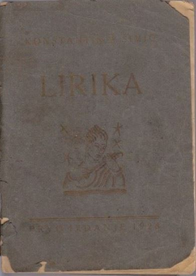 Picture of Konstantin Simic: Lirika