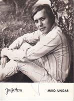 Picture of Miro Ungar, potpis: Foto razglednica