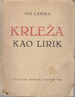 Picture of Ivo Ladika: Krleža kao lirik