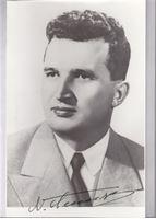 Picture of Nicolae Ceauşescu: Potpis / autograph