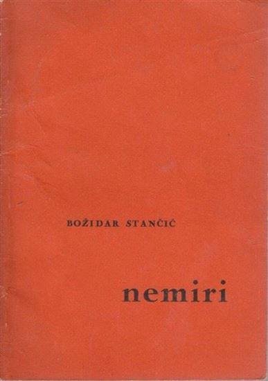 Picture of Božidar Stančić: Nemiri