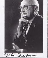 Picture of Millton Friedman: Potpis / autograph