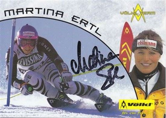 Picture of Martina Ertl-Renz: Potpis / autograph