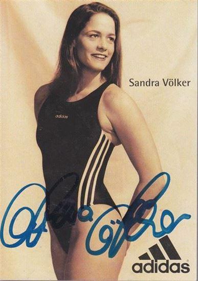 Picture of Sandra Völker: Potpis / autograph