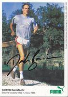 Picture of Dieter Baumann: Potpis / autograph