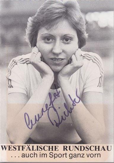 Picture of Annegret Richter: Potpis / autograph