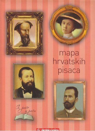 Picture of Emica Calogjera Rogić, urednica: Mapa hrvatskih pisaca