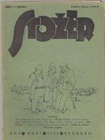 Picture of Jovan Popović, urednik: Stožer, broj 3. Godina 1932