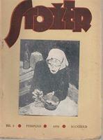 Picture of Jovan Popović, urednik: Stožer, broj 2. Godina 1932
